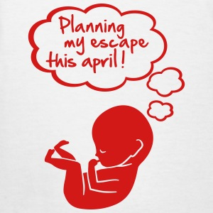 planning my escape this april Women's T-Shirts - Women's T-Shirt