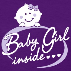 baby girl inside Women's T-Shirts