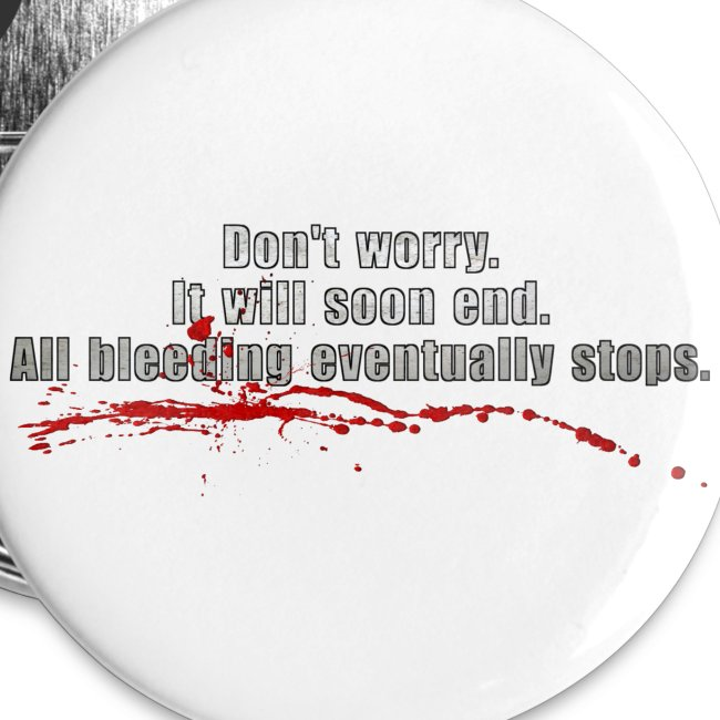 All Bleeding Stops - Large Button (5-pack)