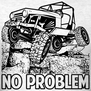 No Problem Rock Crawling Jeep T-Shirts - Men's T-Shirt