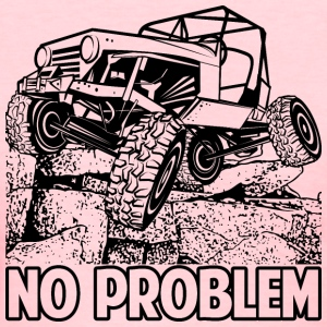 No Problem Rock Crawling Jeep Women's T-Shirts - Women's T-Shirt