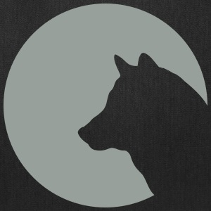 Wolf and Moon 1c Bags & backpacks - Tote Bag