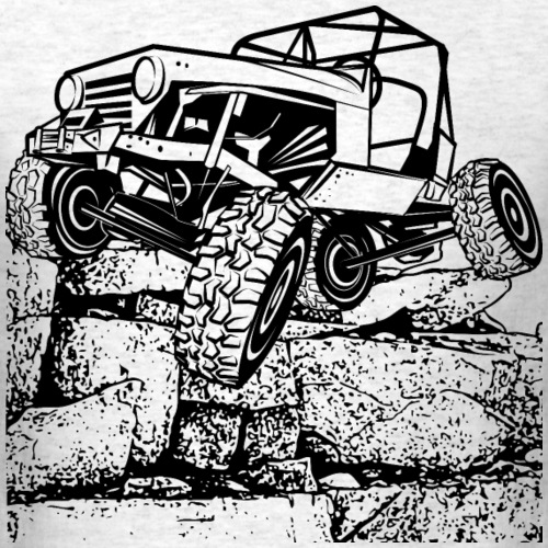 Off-Road Rock Crawling Jeep