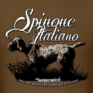 spinone_italiano_pointing T-Shirts - Men's T-Shirt