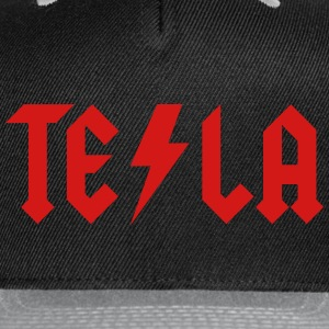 Tesla - Snap-back Baseball Cap