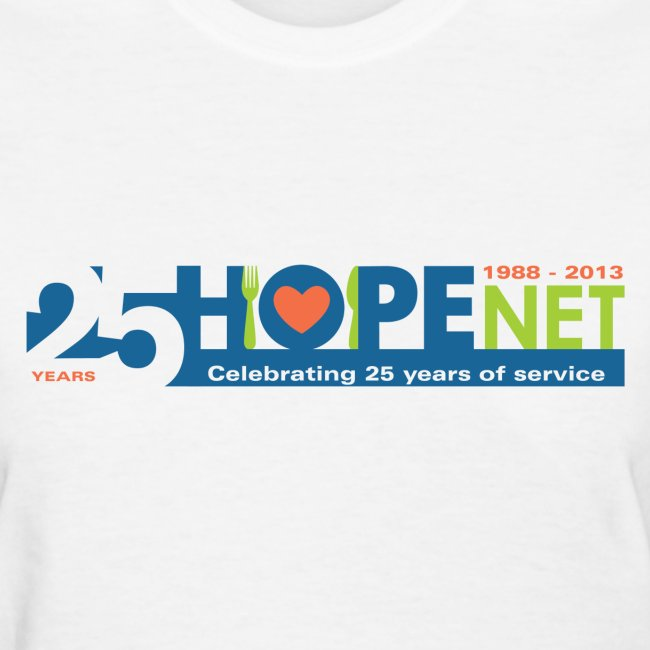 Women's Short Sleeve Anniversary Logo T-Shirt