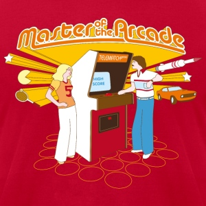 Master of the Arcade T-Shirts - Men's T-Shirt by American Apparel