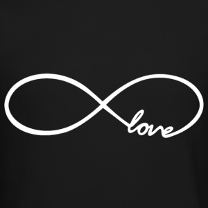 Infinity Love Design Long Sleeve Shirts - Crewneck Sweatshirt