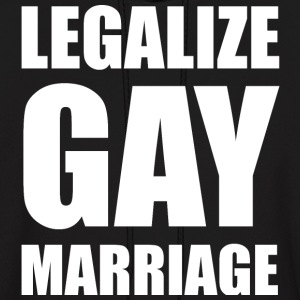 Legalize Gay Marriage LGBT Design Hoodies - Men's Hoodie