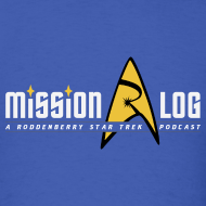 Design ~ Mission Log Shirt (Old Logo)