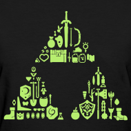 Design ~ Zelda Items Triforce (Womens)
