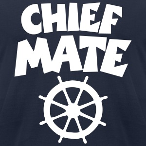 Chief Mate T-Shirt (White/Front) - Men's T-Shirt by American Apparel