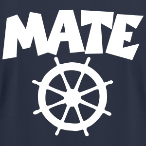 Mate T-Shirt (Navy/Back) - Men's T-Shirt by American Apparel