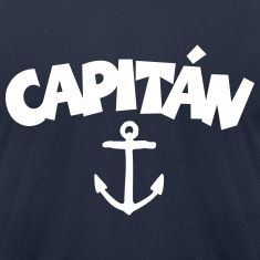 Capitán Anchor T-Shirt (White/Front)