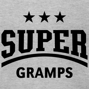 Super Gramps T-Shirts - Men's T-Shirt by American Apparel