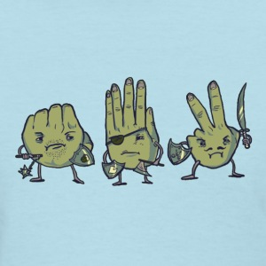 Rock Paper Scissors Tee - Women's T-Shirt