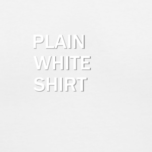 Plain White Shirt - Women's V-Neck T-Shirt