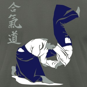 Aikido 2 - Men's T-Shirt by American Apparel