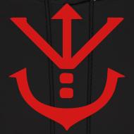 Design ~ Saiyan Royal Crest Hoodie