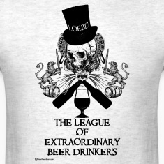 The League of Extraordinary Beer Drinkers Skull To