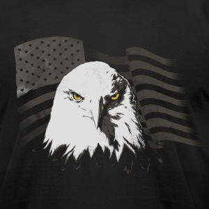 American Freedom Eagle - Men's T-Shirt by American Apparel