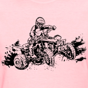 Just Ride Off-Road ATV Women's T-Shirts - Women's T-Shirt
