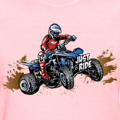 Just Ride Off-Road Quad Women's T-Shirts
