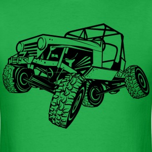 Monster Cool Jeep T-Shirts - Men's T-Shirt