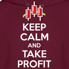 Keep calm and take profit Hoodies