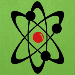 Atom Atomic Nuclear Radioactivity 2c Bags & backpacks - Tote Bag
