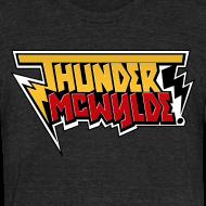 Design ~ Thunder McWylde Vintage Mens T-Shirt