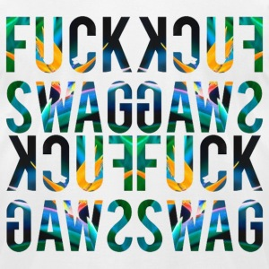 kcuF gawS (fuckswag) T-Shirts - Men's T-Shirt by American Apparel