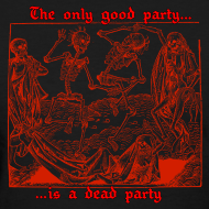 Design ~ Dead Party (Red) - Standard Weight Women's Shirt
