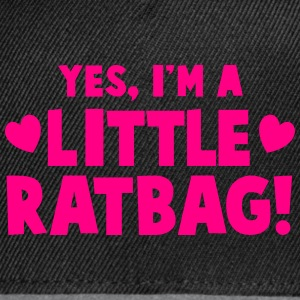 YES I'm a little ratbag Caps - Snap-back Baseball Cap
