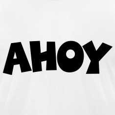 Ahoy T-Shirt (White/Black) Men