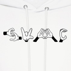 Swag hands Hoodies