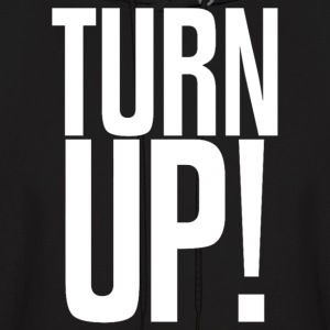 Turn Up Design Hoodies - Men's Hoodie