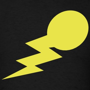 lightning bolt comet with a tail T-Shirts - Men's T-Shirt