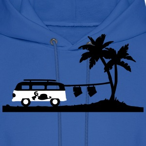 Bus holiday boxer shorts Hoodies - Men's Hoodie