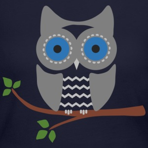 Owl - Women's Long Sleeve Jersey T-Shirt