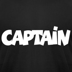 Captain T-Shirt (Black) Men