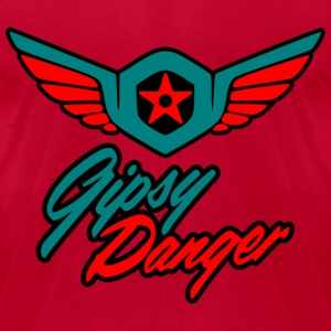 gipsy danger T-Shirts - Men's T-Shirt by American Apparel
