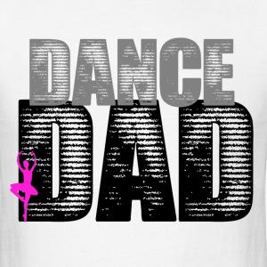 Dance Dad with Ballerina - Men's T-Shirt
