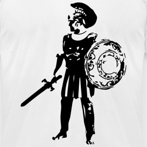 roman soldier T-Shirts - Men's T-Shirt by American Apparel