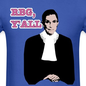 Justice RBG in full color, y'all. (Unisex T) - Men's T-Shirt