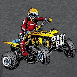 Crazy Fun Quad Rider Women's T-Shirts - Women's T-Shirt