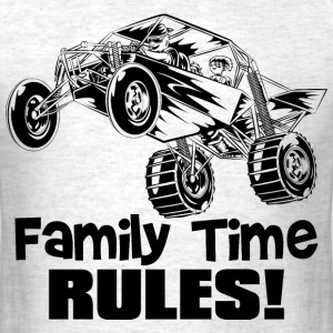Family Time Dune Buggy T-Shirts - Men's T-Shirt