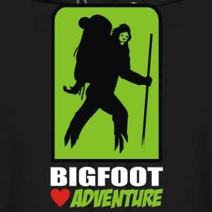 bigfoot love adventure - Men's Hoodie