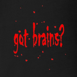 Got Brains Zombie Shirt - Short Sleeve Baby Bodysuit