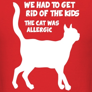 Cat allergy - Men's T-Shirt